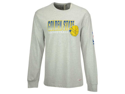 Golden State Warriors Mitchell and Ness NBA Men's Keeping Score Long Sleeve T-Shirt