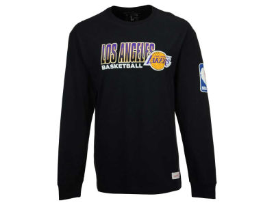 Los Angeles Lakers Mitchell and Ness NBA Men's Keeping Score Long Sleeve T-Shirt