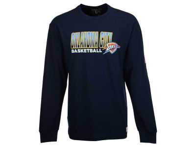 Oklahoma City Thunder Mitchell and Ness NBA Men's Keeping Score Long Sleeve T-Shirt