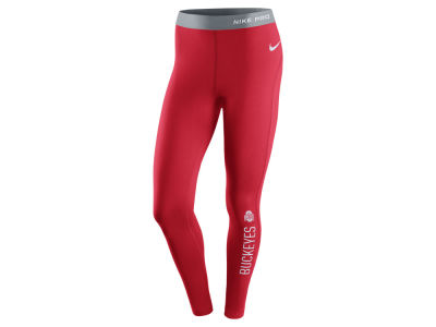 Ohio State Buckeyes Nike NCAA Women's Pro Hyperwarm Tights