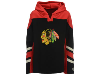 Chicago Blackhawks Old Time Hockey NHL Youth Drift Hoodie