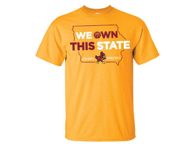 Iowa State Cyclones NCAA Men's We Own This State T-Shirt