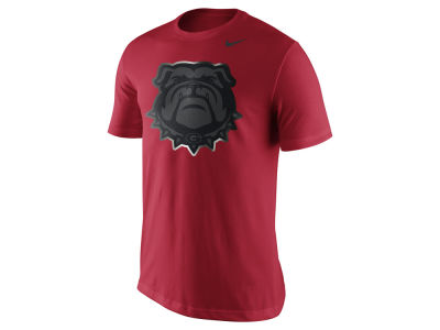 Georgia Bulldogs Nike NCAA Men's Champ Drive Reflective Logo T-Shirt