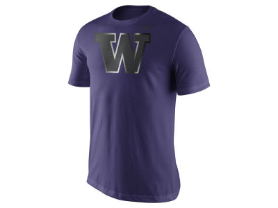 Washington Huskies Nike NCAA Men's Champ Drive Reflective Logo T-Shirt