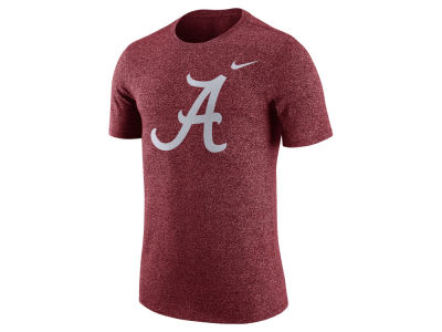 Alabama Crimson Tide Nike NCAA Men's Marled Logo T-Shirt""