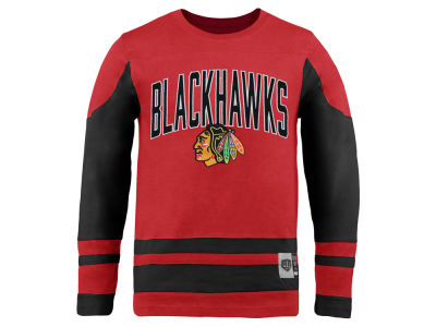 Chicago Blackhawks Old Time Hockey NHL Youth Dufferin Long Sleeve T-Shirt