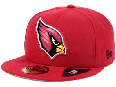 Arizona Cardinals New Era NFL 2016 Beveled Team 59FIFTY Cap