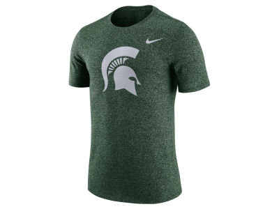 Michigan State Spartans Nike NCAA Men's Marled Logo T-Shirt""