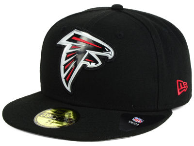 Atlanta Falcons New Era NFL 2016 Beveled Team 59FIFTY Cap