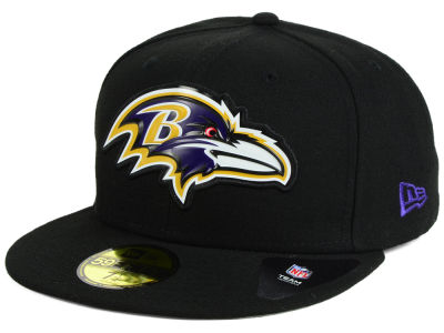 Baltimore Ravens New Era NFL 2016 Beveled Team 59FIFTY Cap