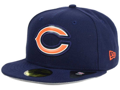 Chicago Bears New Era NFL 2016 Beveled Team 59FIFTY Cap