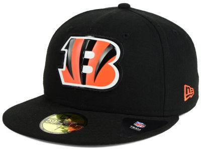 Cincinnati Bengals New Era NFL 2016 Beveled Team 59FIFTY Cap