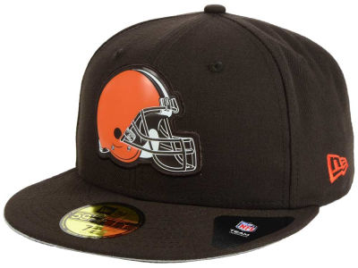 Cleveland Browns New Era NFL 2016 Beveled Team 59FIFTY Cap