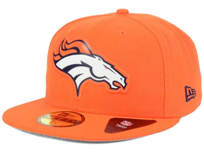 Denver Broncos New Era NFL 2016 Beveled Team 59FIFTY Cap