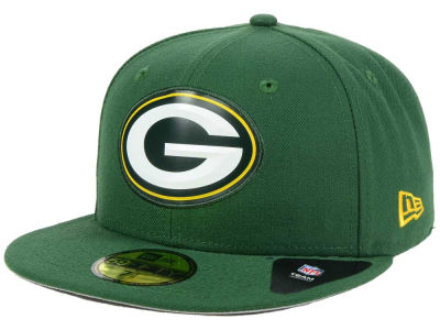 Green Bay Packers New Era NFL 2016 Beveled Team 59FIFTY Cap
