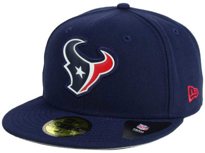 Houston Texans New Era NFL 2016 Beveled Team 59FIFTY Cap