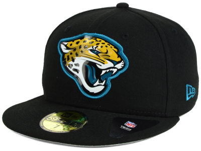 Jacksonville Jaguars New Era NFL 2016 Beveled Team 59FIFTY Cap