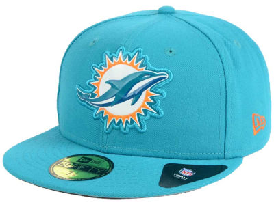 Miami Dolphins New Era NFL 2016 Beveled Team 59FIFTY Cap