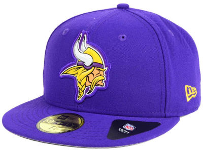 Minnesota Vikings New Era NFL 2016 Beveled Team 59FIFTY Cap