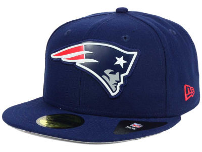 New England Patriots New Era NFL 2016 Beveled Team 59FIFTY Cap