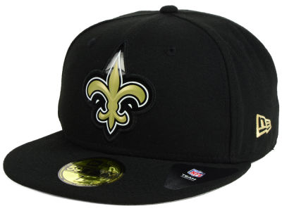 New Orleans Saints New Era NFL 2016 Beveled Team 59FIFTY Cap