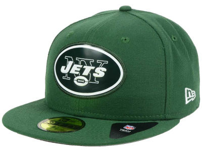 New York Jets New Era NFL 2016 Beveled Team 59FIFTY Cap