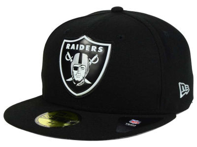 Oakland Raiders New Era NFL 2016 Beveled Team 59FIFTY Cap