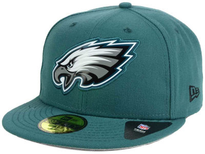 Philadelphia Eagles New Era NFL 2016 Beveled Team 59FIFTY Cap