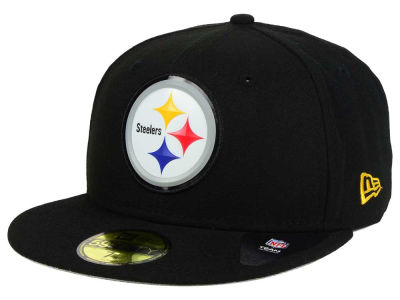 Pittsburgh Steelers New Era NFL 2016 Beveled Team 59FIFTY Cap