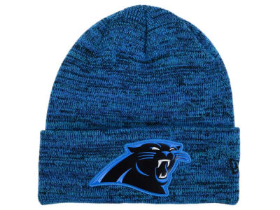 Carolina Panthers New Era NFL Beveled Team Knit