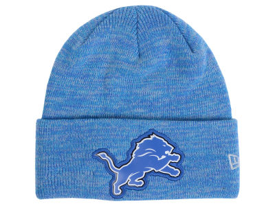 Detroit Lions New Era NFL Beveled Team Knit