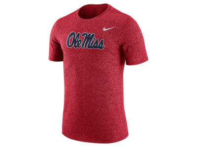 Ole Miss Rebels Nike NCAA Men's Marled Logo T-Shirt""