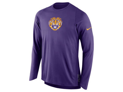 LSU Tigers Nike NCAA Men's Elite Shooter Long Sleeve T-Shirt