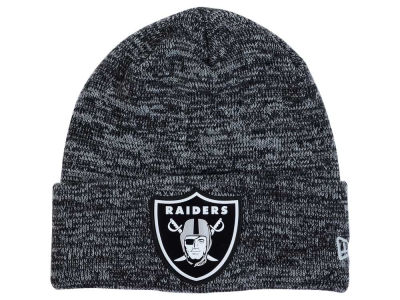 Oakland Raiders New Era NFL Beveled Team Knit