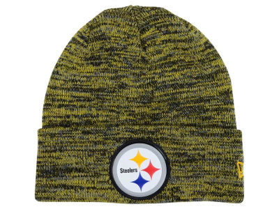 Pittsburgh Steelers New Era NFL Beveled Team Knit
