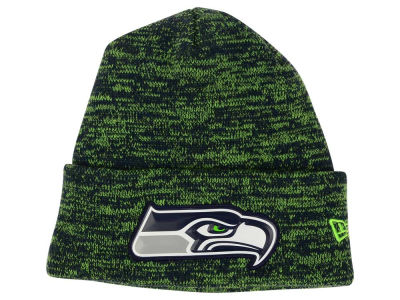 Seattle Seahawks New Era NFL Beveled Team Knit