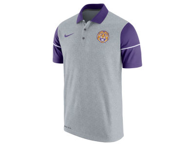 LSU Tigers Nike NCAA Men's Sideline Polo Shirt