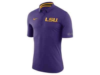 LSU Tigers Nike NCAA Men's Basketball Polo Shirt