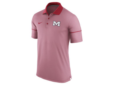 Ole Miss Rebels Nike NCAA Men's Camp Drive Story Polo
