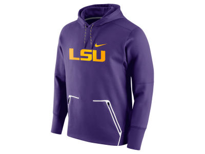 LSU Tigers Nike NCAA Men's Vapor Speed Fleece Hoodie