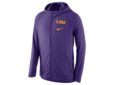 LSU Tigers Nike NCAA Men's Hyper Elite Full Zip Fleece Hoodie