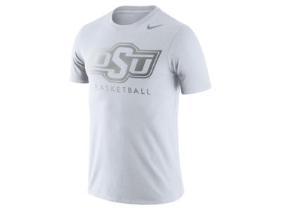 Oklahoma State Cowboys Nike NCAA Men's Dri-Fit Cotton Basketball Graphic T-Shirt