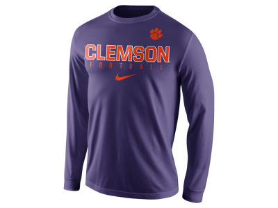 Clemson Tigers Nike NCAA Men's Cotton Practice Long Sleeve T-Shirt