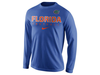 Florida Gators Nike NCAA Men's Cotton Practice Long Sleeve T-Shirt
