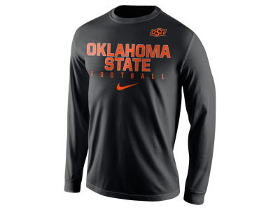 Oklahoma State Cowboys Nike NCAA Men's Cotton Practice Long Sleeve T-Shirt