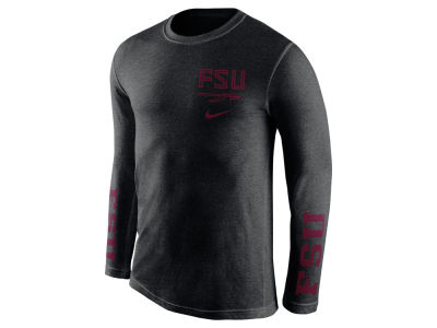 Florida State Seminoles Nike NCAA Men's Triblend Fresh Long Sleeve T-Shirt