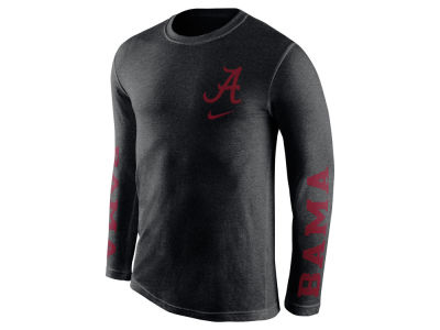 Alabama Crimson Tide Nike NCAA Men's Triblend Fresh Long Sleeve T-Shirt