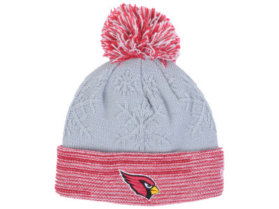 Arizona Cardinals New Era NFL Women's Snow Crown Redux Knit
