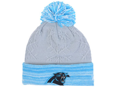 Carolina Panthers New Era NFL Women's Snow Crown Redux Knit
