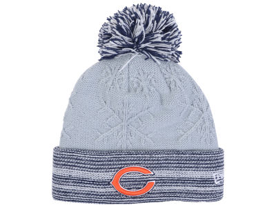 Chicago Bears New Era NFL Women's Snow Crown Redux Knit